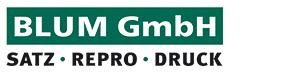 Blum GmbH | Satz • Repro • Druck