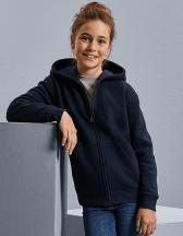 Kids Authentic Zipped Hooded Sweat